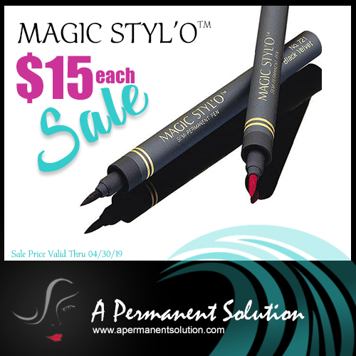 Magic Styl'o on Sale - A Permanent Solution